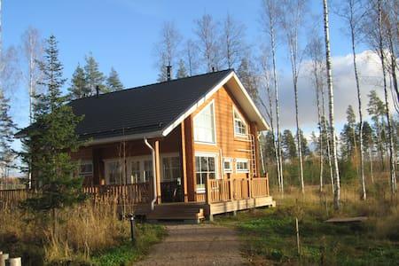 коттедж Saimaa Lakeside на берегу - Ruokolahti - Rumah