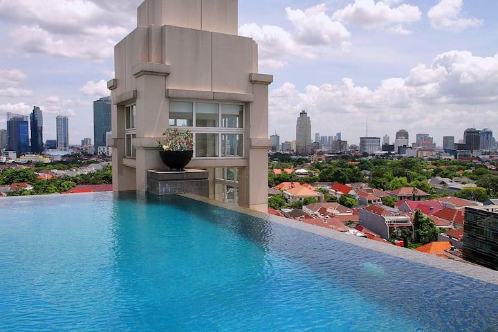 Perfect 50 m2, 1 bdrm apartment