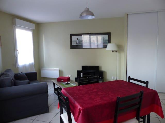 Appartement meublé Proche Le Havre - Montivilliers - Huoneisto
