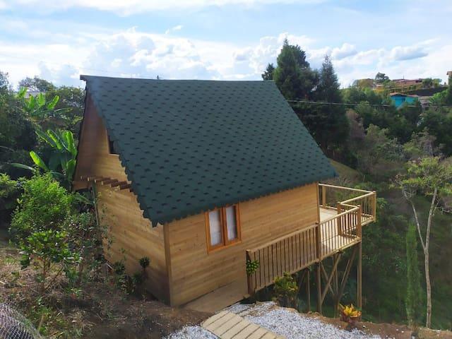 Hermosa cabaña de campo en Guarne
