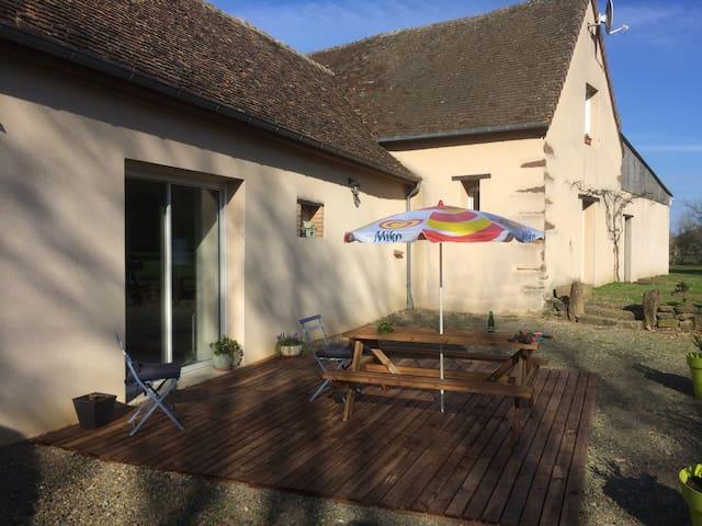 2 chambres aux Epeignes - Sainte-Jamme-sur-Sarthe - Casa