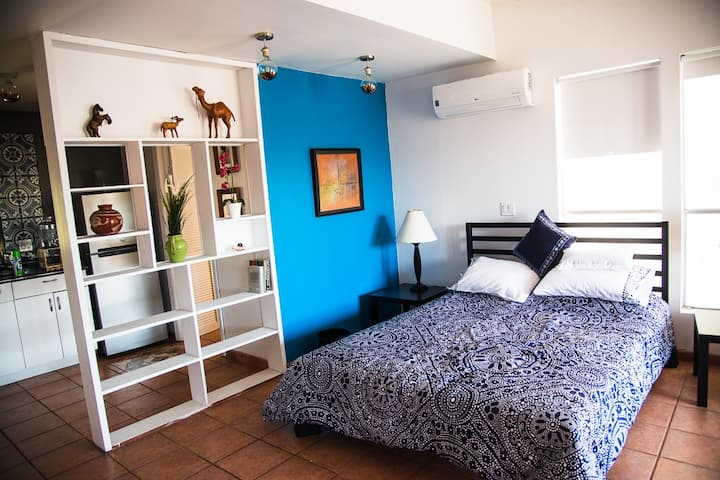 Cozy Private Loft near all in Malinche Place