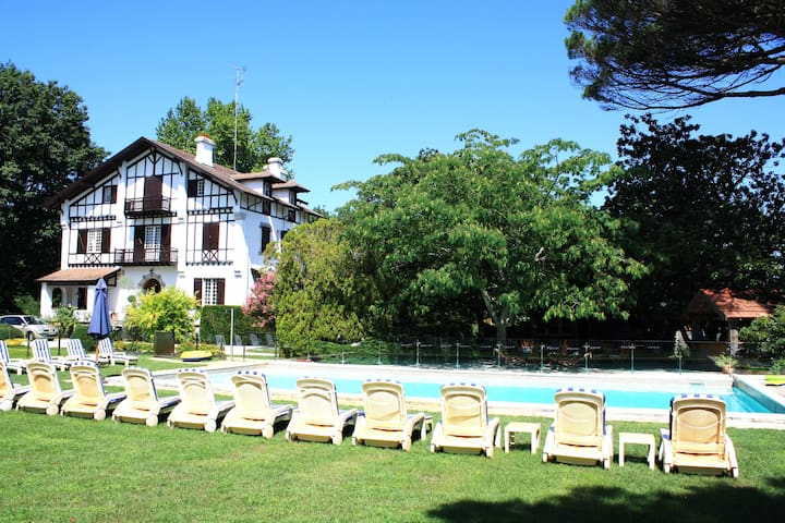 Superb manor, pool, tennis & garden - Soustons - Castelo