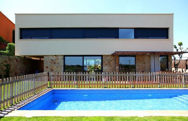Costabravaforrent Casavells, house up to 12, pool - Corçà - Rumah