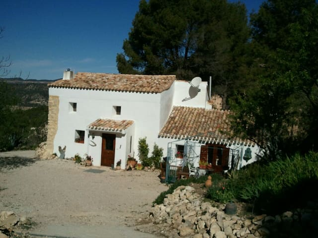 Spanish finca near to Torremanzanas - La Torre de les Maçanes - Bed & Breakfast