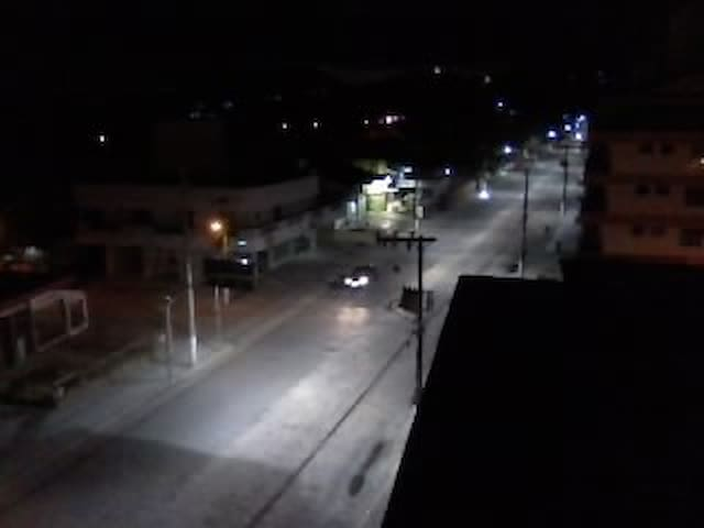 Vista frente a noite