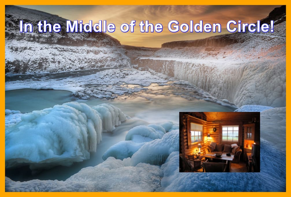 Sólstadir at White River is located in the middle of the Golden Circle!