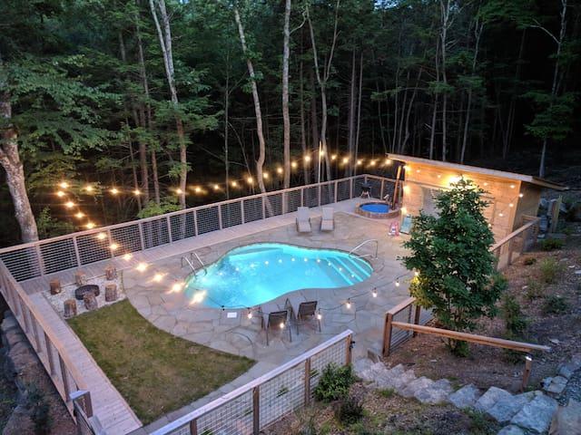 Heated pool and hot tub