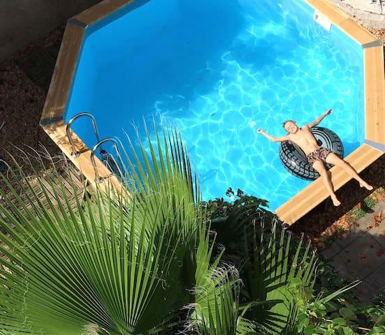 """"""" Le Loft"""" avec piscine - Saint-Thibéry - Haus"""