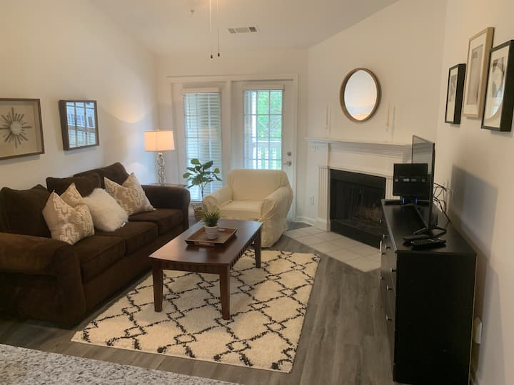 Fabulous One Bedroom w/ Fireplace in Alpharetta