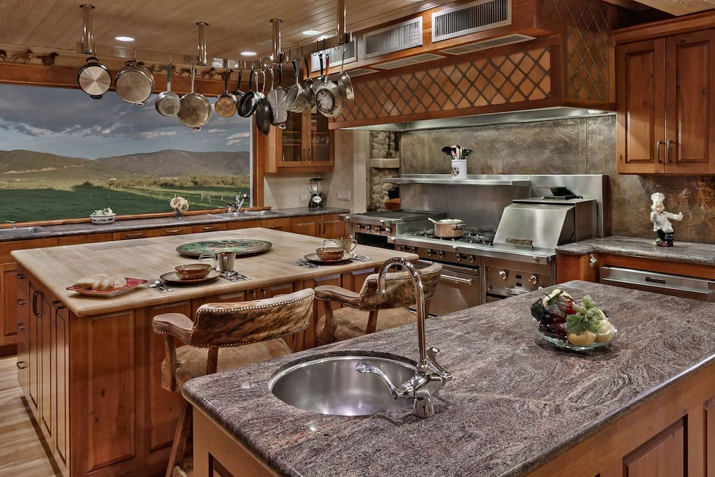 Create a culinary master piece in this kitchen