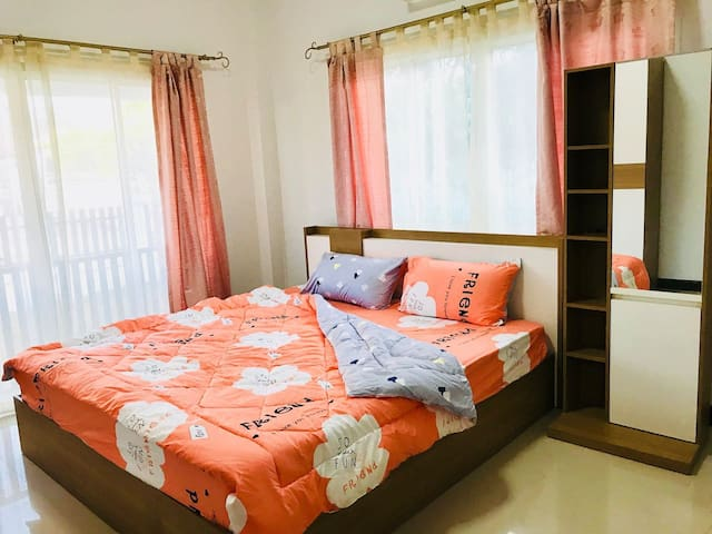 The 1st bed room