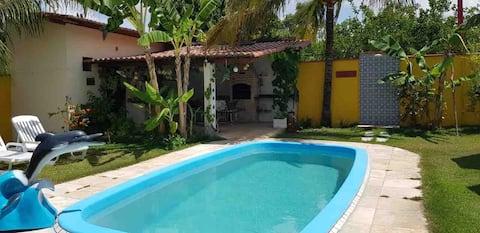 Casa aconchegante com Piscina na Lagoa do Bonfim