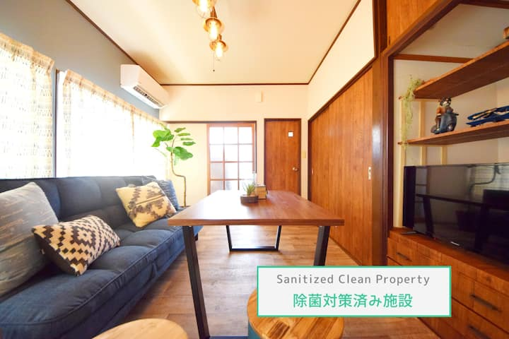 ★Clean Room★Monthly★New Open House/2BR/Wi-Fi