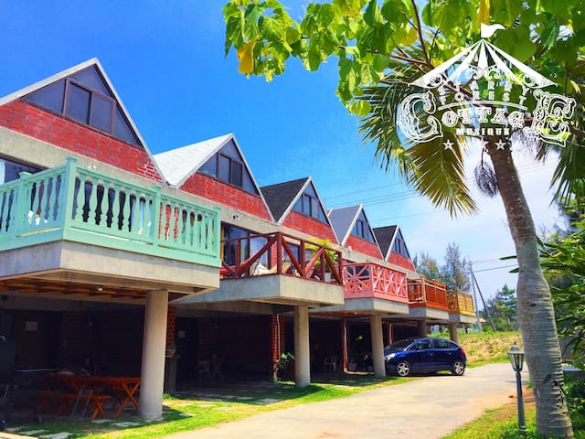 Starry Sky resort  cottage for Cat Lovers !  B84㎡