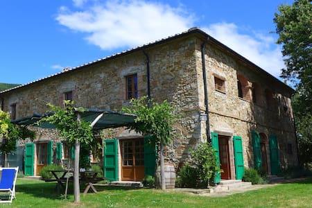 Typical Tuscan Podere San Giuseppe - Castelnuovo di Val di Cecina - House