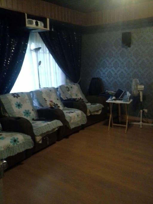 家庭影院4人躺椅