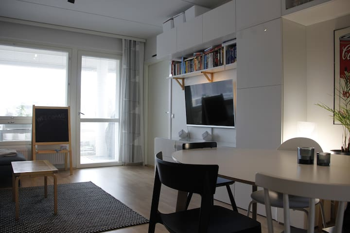 New luxurious apartment in heart of Lauttasaari - Helsinki - Apartment