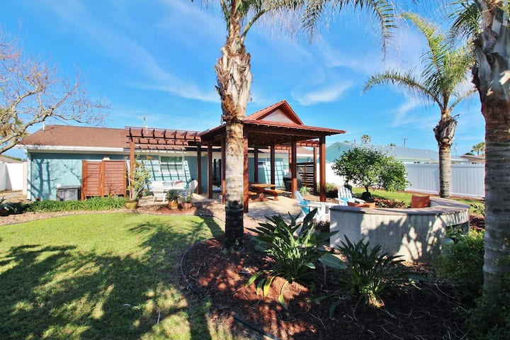 Stunning Backyard and Easy Access to Non-Driving Shore from this Beach Home