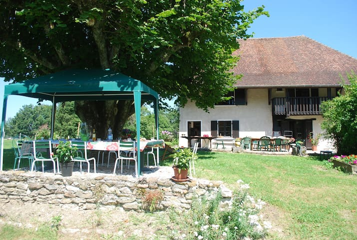 Grande maison familiale d'été - Lépin-le-Lac