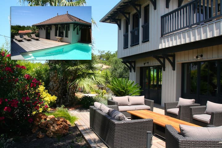 Stunning high standard Villa, heated Pool +aircon