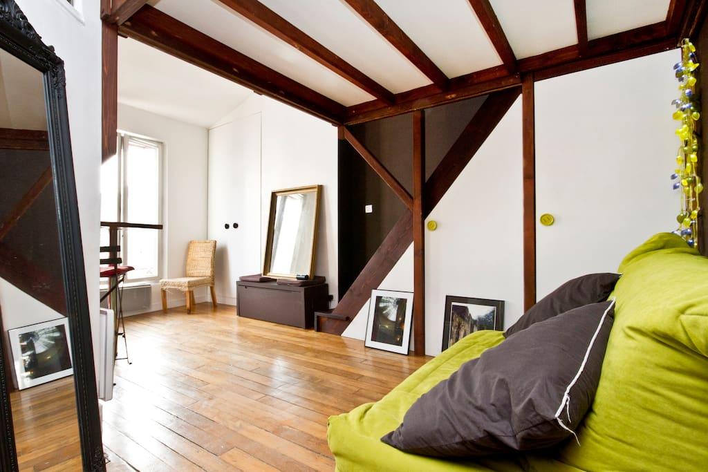 Bel appartement centre montmartre appartements louer - Location appartement meuble ile de france ...