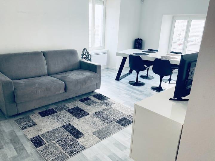 Appartement en toute tranquillité.