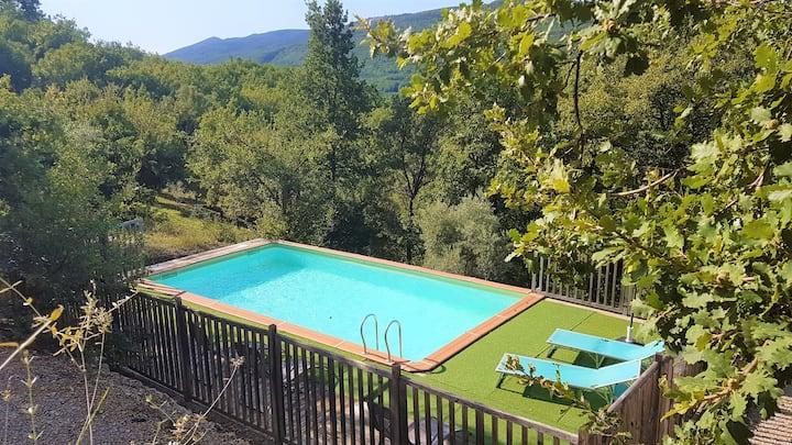 Maison avec piscine à 500m de Lac de Sainte Croix