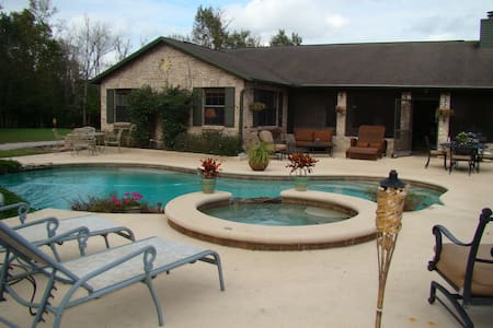 4 BR / 2 BA Gated Equestrian Ranch  - Christmas - Maison