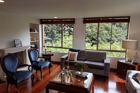 Comfy Double Bedroom with Private Bathroom - Bogotá - Lägenhet