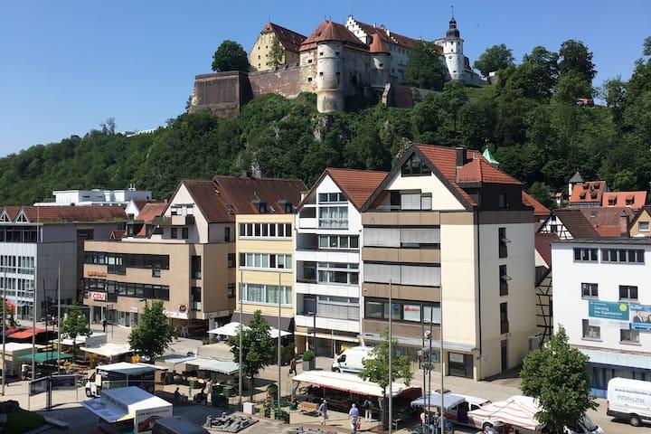 90 qm² Penthouse mit Schlossblick Zentral in HDH