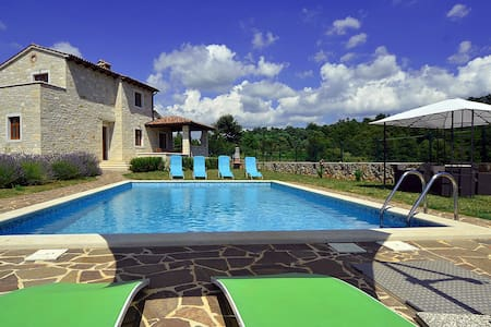 Beautifull villa with private pool - Dubravci - Huvila