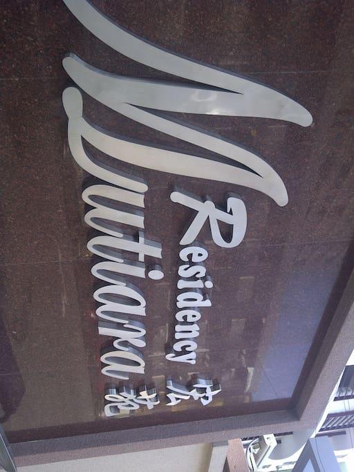 Mutiara Residency Logo , Buiding Outlook