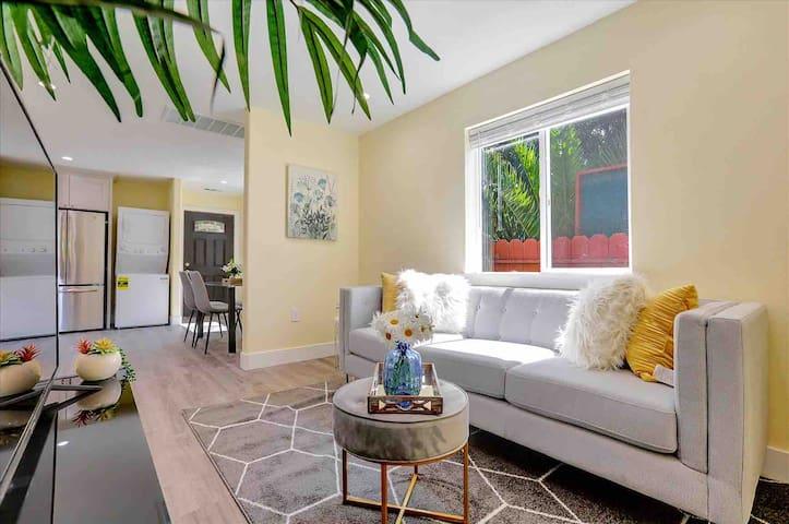 Bright, modern style Living room