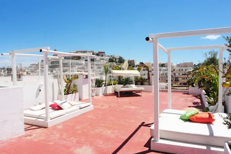 Suite with private bathroom in luxury penthouse 1 - Eivissa - Διαμέρισμα
