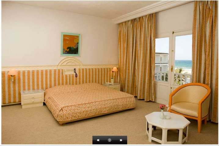 Very nice room with sea view :)