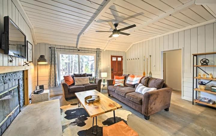 Modern Rustic Mountain Cabin
