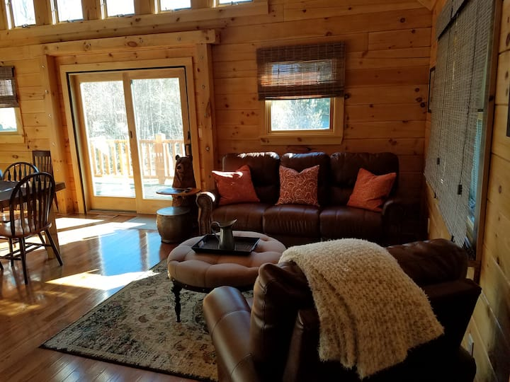 TWIN MOUNTAIN - Brand New Log Home