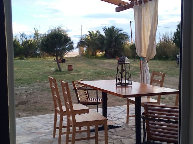 Sweet house first on the beach - Toroni - Casa