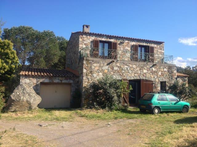 Maison en pierres a deux pas de la plage - Palasca - Diğer