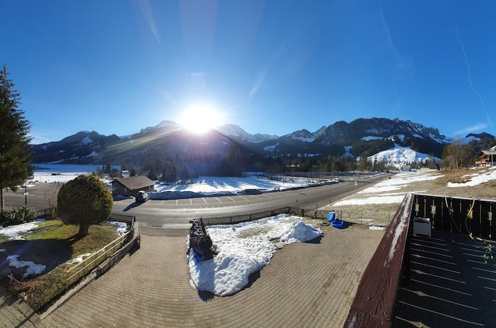 Une vue incroyable dès votre réveil à Schwarzsee