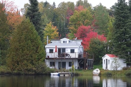 Lovely lakefront house with a beautiful lake view - Entrelacs