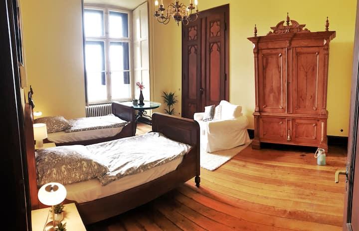 4 Personen Suite im Schloss
