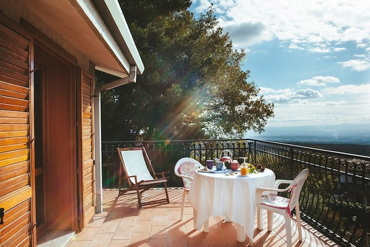Etna - Casa Tomasello - Ragalna - Rumah