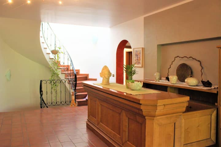 Friendly Holiday Apartment Freiberghof-App.1 with Pool, Balcony & Mountain View; Parking Available, Pets Allowed
