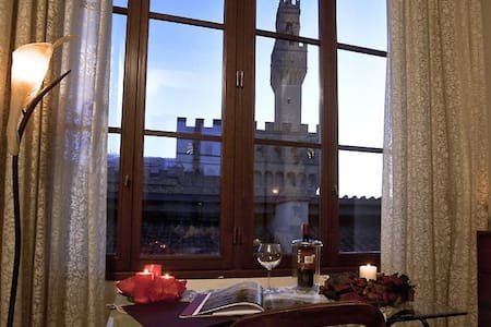 Panorama loft in 7 Piazza Signoria: 360° view :-) - Firenze - Loft