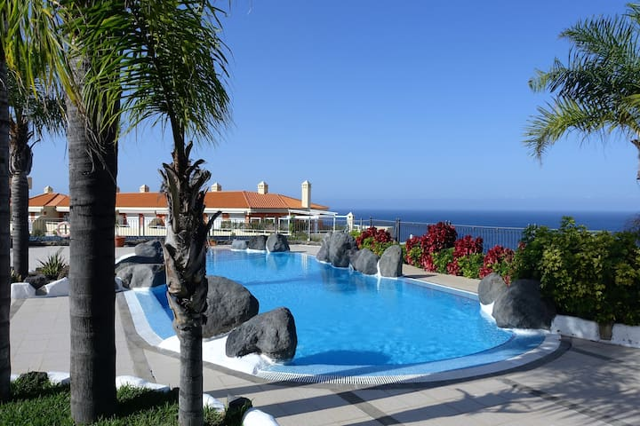 Holiday Apt. with lovely sea views. - Puerto de la Cruz - Daire