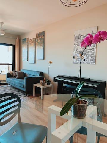 Apartamento aconchengante no Centro de Indaiatuba!