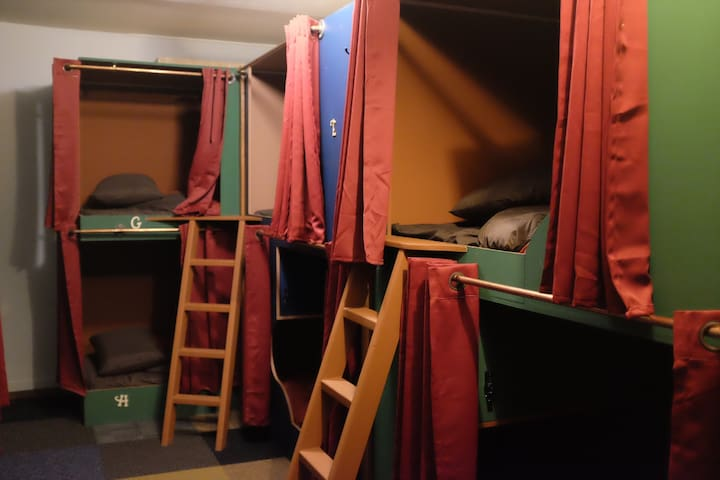 Bunk Bed in Historic Bunk Hotel in Downtown