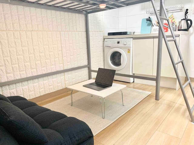 [서울대병원5분,혜화역3분]조용하고 편안한 Cozy Room2 (살균소독청소)
